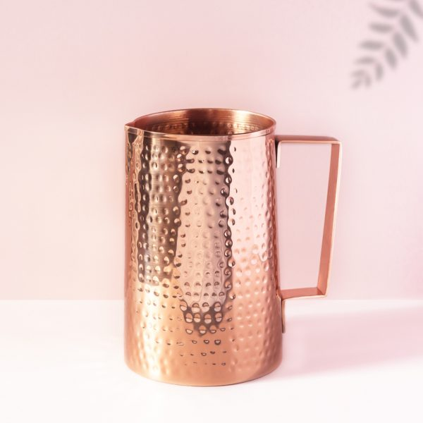 Hammered Copper Jugs