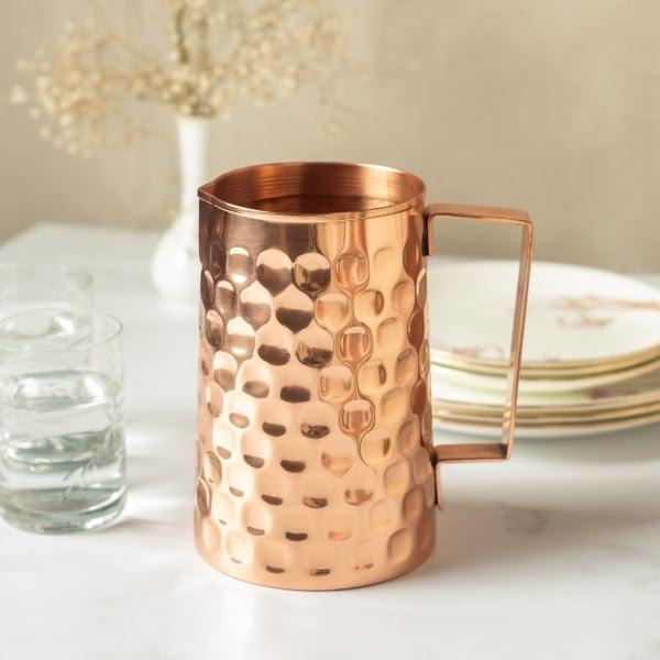 copper jugs mood image